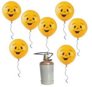 Ballongas Helium im Shop